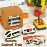 Remote Control RC Electric Rail Train Toys Connected Wooden Railway Track  e ~