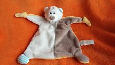 "Nici My first Nici Beige Bear Blankie Comforter Doudou Soft Toy 12"""