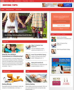 DATING GUIDE - Fully Featured Niche Business Website For Sale - Newbie Friendly