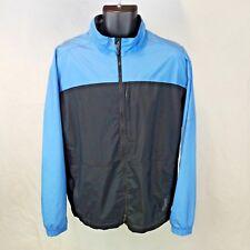 5ba81d4bb8 Nike Golf Men s Large Blue Black Storm Fit Full-Zip Jacket L EUC