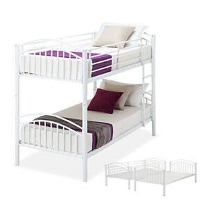 Metal Bunk Bed With Mattresses For Sale Ebay