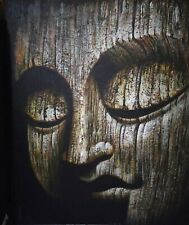 Powerful Buddha meditation painting Yoga devine Dharma fine art Gautama