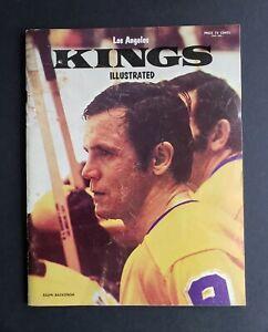 Los Angels Kings vs Boston Bruins 1972 Hockey Program - Bobby Orr Scores!