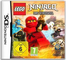 Nintendo Ds Lego Ninjago Strategy Game Multiplayer Martial Arts Far East