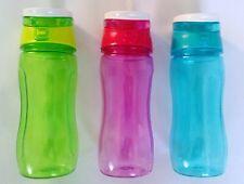 Drink Water Bottle Sports Flip Straw Tritan Running Gym Yoga Cycling 500ML