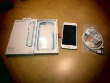 Apple iPhone 6s - 32GB - Silver (AT&T) A1633 (CDMA + GSM) MN0N2LL/A + tech21