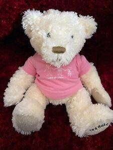 Ted Baker Girl's BEAR soft toy vintage baby newborn gift Xmas teddy dress Xmas