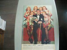 1930's look magazine clark gable double page