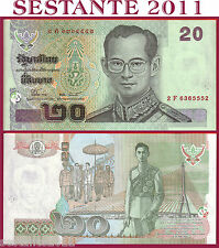 THAILAND  TAILANDIA  20 BAHT Sign 77   nd 2003   -   P 109 -   FDS / UNC