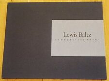 LEWIS BALTZ - CANDLESTICK POINT - 1989 GALLERY MIN 1ST EDITION & PRINTING - FINE