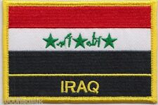 Iraq 1991 to 2004 God Is Great Flag Embroidered Patch Badge - Sew or Iron on
