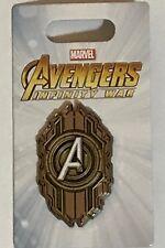 Disney Marvel Avengers Infinity War Logo Emblem Seal Pin Mint New 4th of 4 Pins