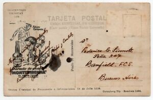1930´s URUGUAY FOOTBALL SOCCER ADVERTISING COVER, VERY HIGH VALUE !!
