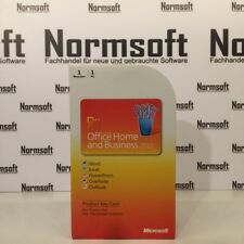 MICROSOFT OFFICE 2010 HOME AND BUSINESS PKC MS DEUTSCH WORD EXCEL OUTLOOK ETC.