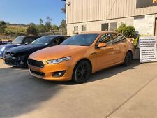 FORD FALCON XR6 FGX SEDAN 2016 AUTO VICTORY GOLD (NOW WRECKING VEHICLE