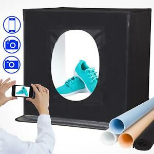 Photo Studio Light Box Tent Portable Studio Product Photography Kit 60x60cm
