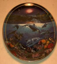 Rainbow Sea, Above and Below, Christian R Lassen,The Bradford Exch 00006000 ange plate