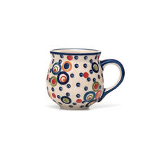 Bunzlauer Keramik Kugelbecher 200 ml AS38 Unikat Modern