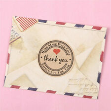 Paper Tags Gift Wrapping Supplies Sealing Labels Thank You Stickers Packaging