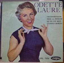 ODETTE LAURE CHANDERNAGOR FRENCH EP VOGUE 1957