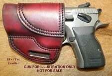 Gary Cs Avenger Left Hand Holster EAA/Tanfoglio Witness Compact Steel Leather