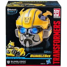 Transformers Studio Series Bumblebee Movie Showcase Helmet Hasbro Bluetooth NEW