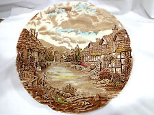 vintage Johnson Bros. England.Old English country side plate