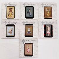 Lot of 7 Mirabilia Cross Stitch Patterns ONLY Fairies Princess Nora Corbett