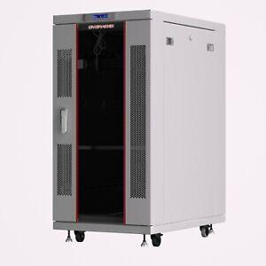 27U Server Rack IT Cabinet Data Network Rack Enclosure - 35-Inch Deep Rack Stand