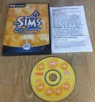 The Sims On Holiday Expansion Pack - Original Add on PC CD-Rom Game EA Games VGC