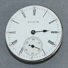 Elgin 0 Size Hunt Case Pocket Watch Movement - Oh340