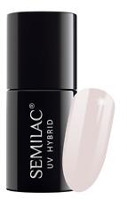Semilac UV LED Nail Polish 7ml High Quality 100 Original 001-057 002 Delicate French