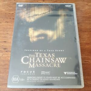 The Texas Chainsaw Massacre DVD R4  FREE POST