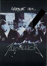 Metallica Garage Promo Flyer