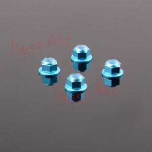 # 31045 4P Aluminum M4 Lock Nuts 1/10 Truck HIMOTO E10MTL E10MT E10BP FOR RC