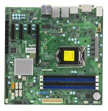 Supermicro X11SSQ Motherboard microATX Q170 vPro AMT Embedded FULL WARRANTY