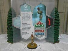 Heroscape Custom Omnom Double Sided Card & Figure w/ Sleeve Vydar