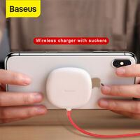 Baseus Wireless Charger Spider Suction Cup Charging Pad for Samsung S10 iPhone X