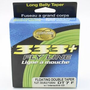 Cortland 333 Plus Fly Line Floating Double Taper 3 Choices Available
