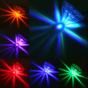 PSB 6 Color Waterproof Round LED Underbody Underglow Car Auto Chassis Light New