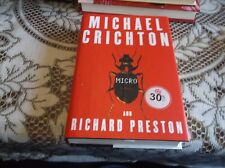 Micro No. 4 by Michael Crichton and Richard Preston (2011, Hardcover)