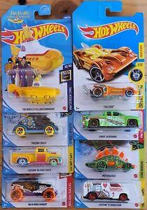 Hotwheels cars treasure hunts ×8