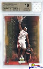 2003 UD Freshman #32 Lebron James RC+Game Used HS Jersey BGS 10 PRISTINE 1/1