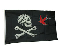 New listing Captain Jack Pirate Flag 3 X 5 3x5 Feet Polyester New Sparrow