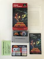 EXC++ Super Metroid Nintendo Supe Famicom SFC SNES NTSC-J Japan Import