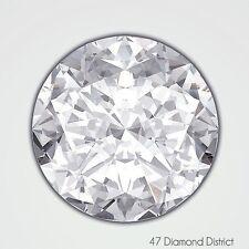 1.41ct. G-VS2 Ex Cut Round Brilliant AGI Certified Diamond 7.05x7.08x4.45mm