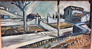 Grand tableau du grand artiste Auguste CHABAUD 1882-1955