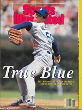 Sports Illustrated 1991 OREL HERSHISER Los Angeles Dodgers Baseball NO LABEL