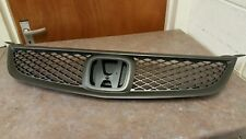 Genuine Honda Civic Type R EP3 Front Grill (2004 To 2005) Grey