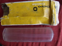NOS 1962 62 Buick Back-Up Lamp Lens LH LeSabre Invicta  Delco Guide  # 5952959